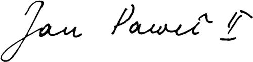 podpis-sw-jana-pawla-ii